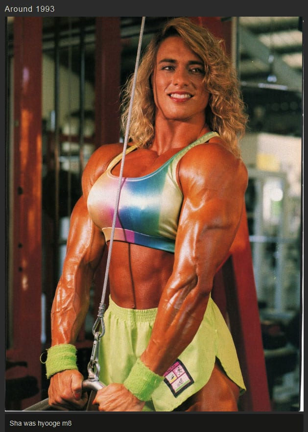 20 years of steroid use women