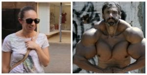 The Latest Synthol Freak Nearly Cries When A Woman Laughs At His Physique