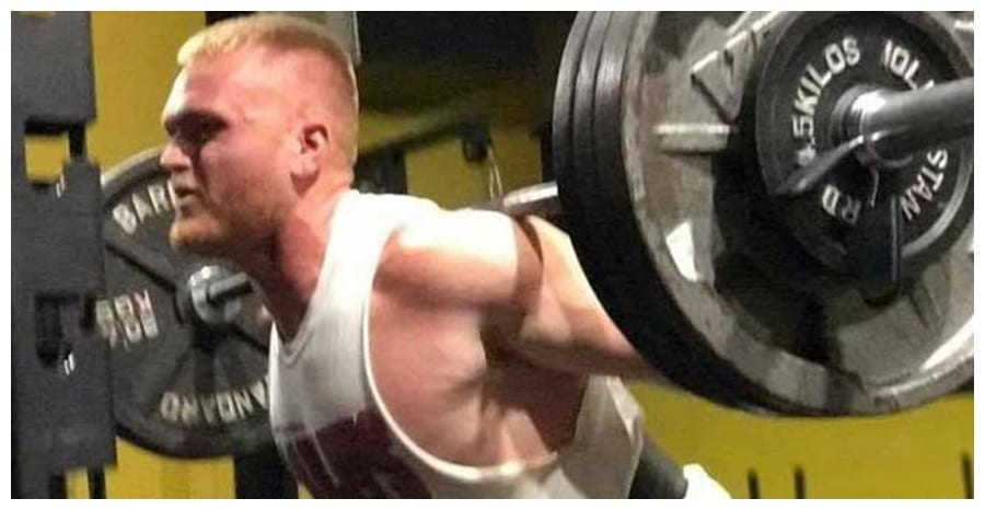 man dies after barbell falls on neck