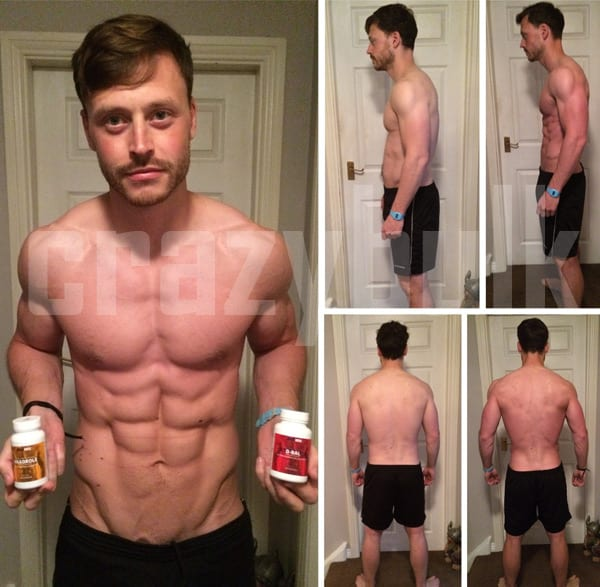 results after 1 cycle of steroids