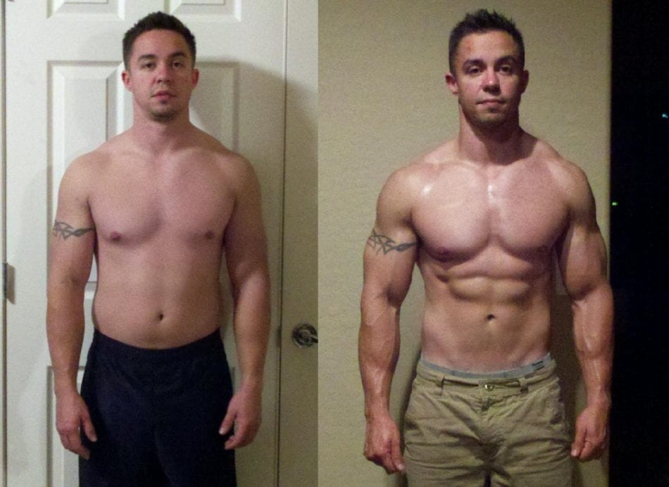 Results: Before and After a Tren Cycle, the Most Powerful Steroid