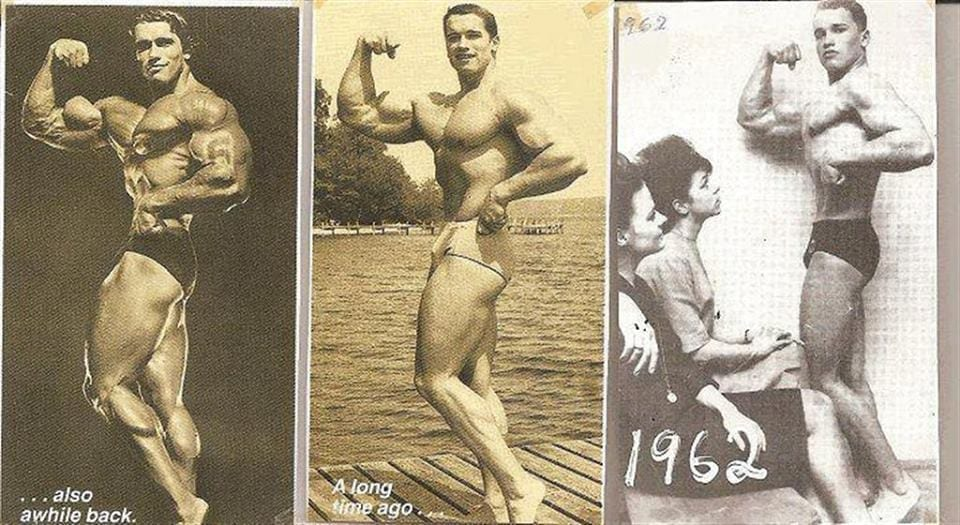 arnold schwarzenegger diet and workout plan