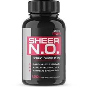 Sheer n.o. 2nd best nitric oxide booster