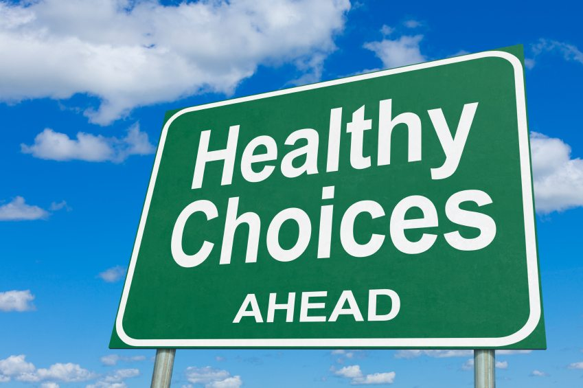 make healthy choices for test levels