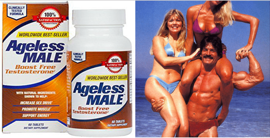 ageless male review ingredients