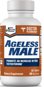 ageless male testosterone booster