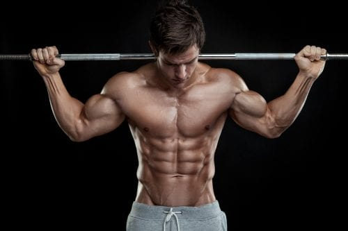 Broscience Testosterone Effects on Men bar