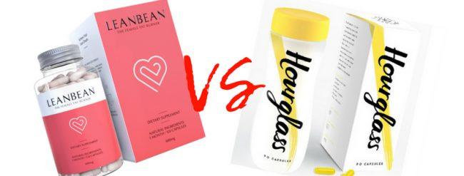 leanbean vs hourglass female fat burner