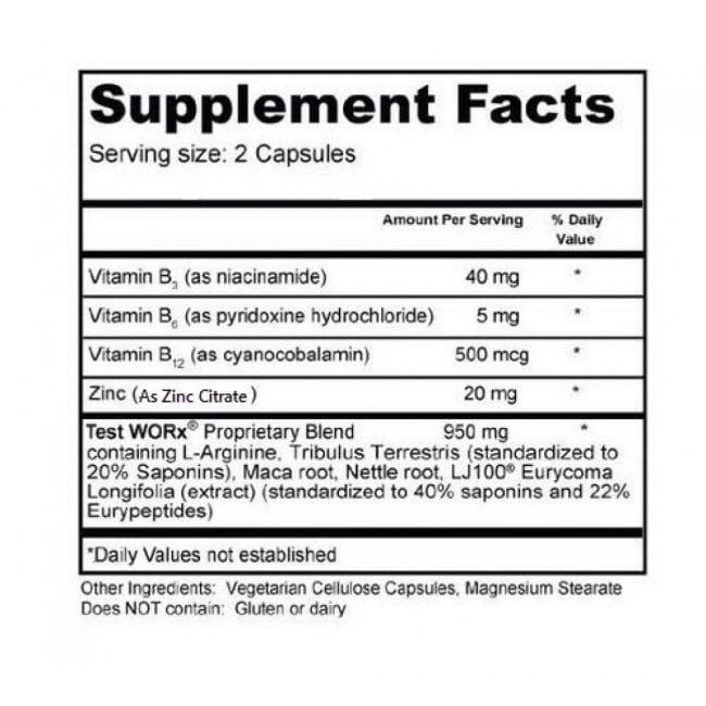 test worx ingredients