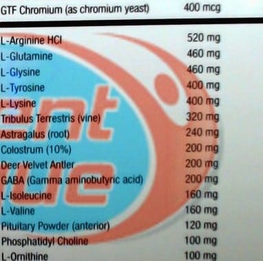 hypergh 14x review ingredients