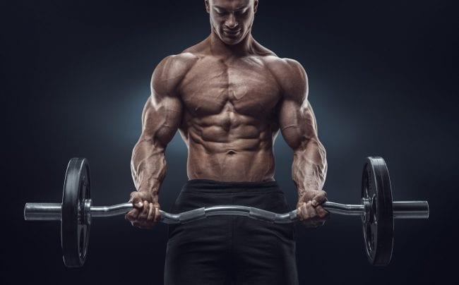workout supplements bar