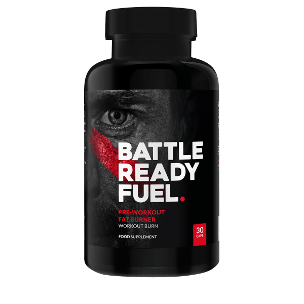 battle ready fuel pre workout fat burner review bottle