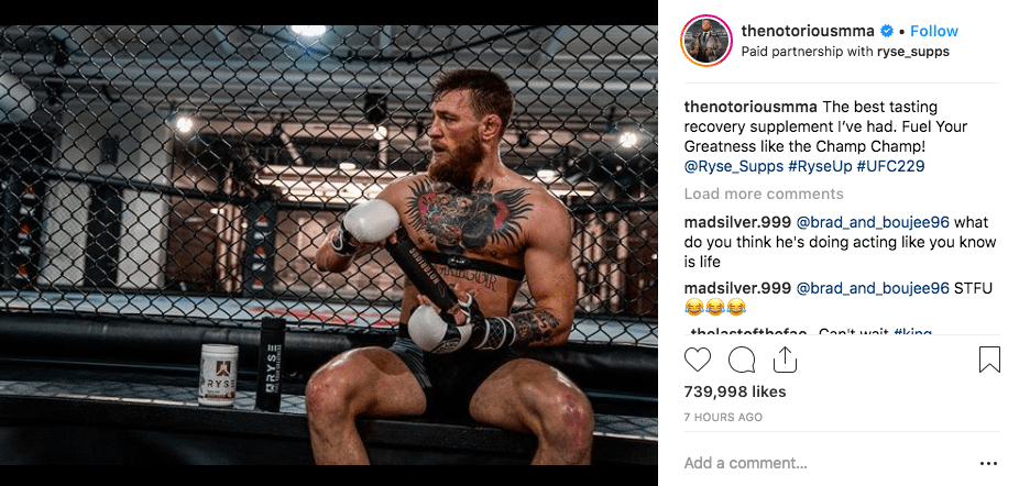 conor mcgregor ryse supps