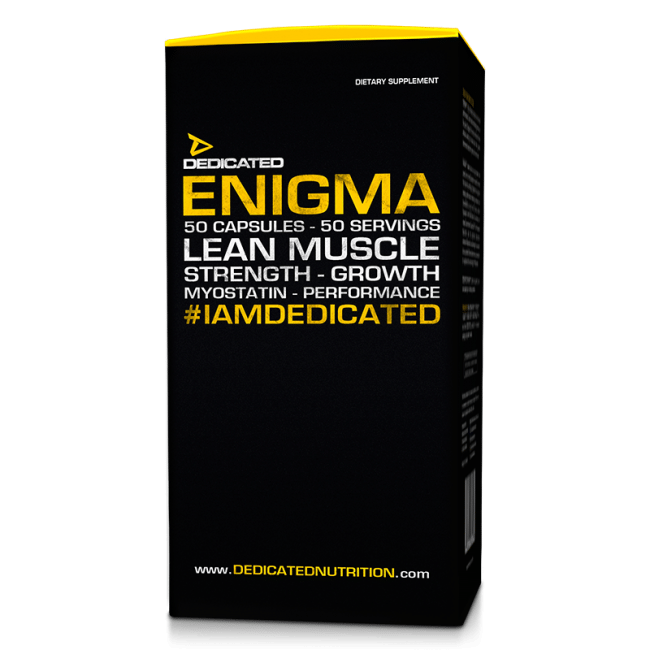 dedicated nutrition review enigma