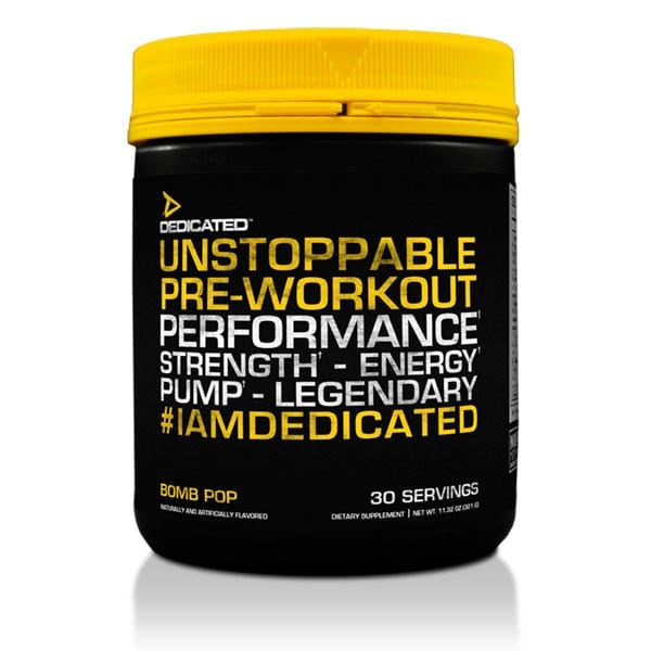 dedicated nutrition review unstoppable