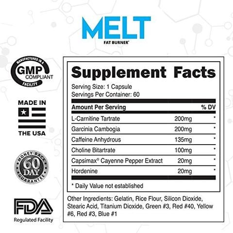 lmnitrix melt review ingredients