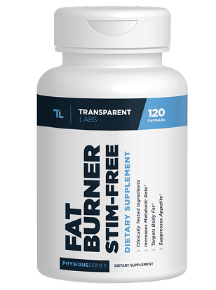 stim free fat burner treansparent labs