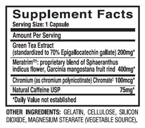 burn hd dietspotlight ingredients