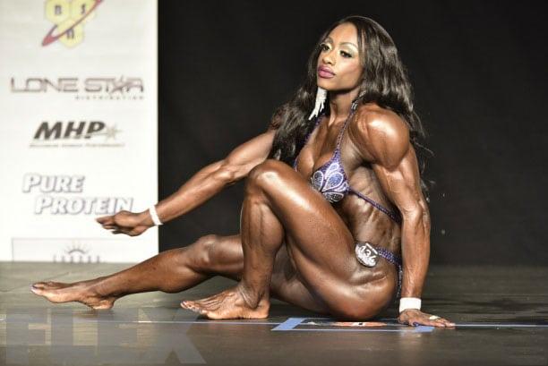 Shanique-Grant. 2018 mr olympia champion
