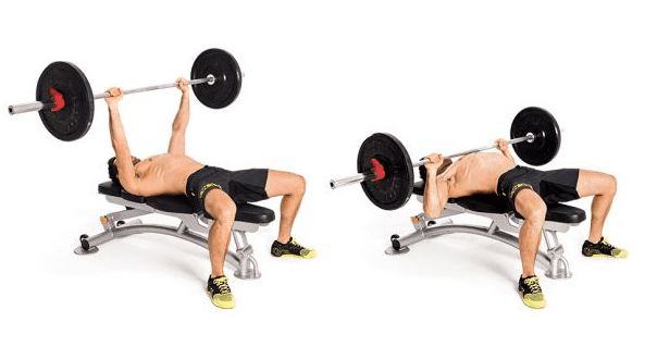 how to do flat bench press to build muscle naturally