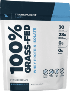 100% Grass-Fed by Transparent Labs
