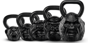 Kettlebells With Faces