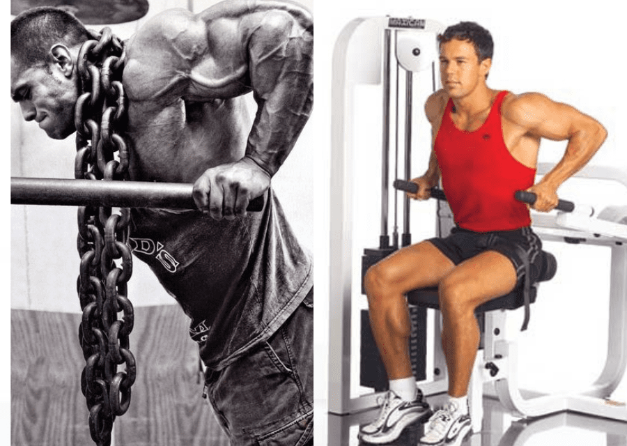 resistance machines good or bad for muscle building