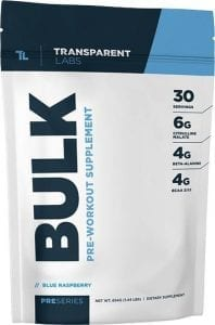 Transparent Labs Bulk Pre Workout