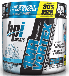 BPI Sport 1MR Pre Workout Review