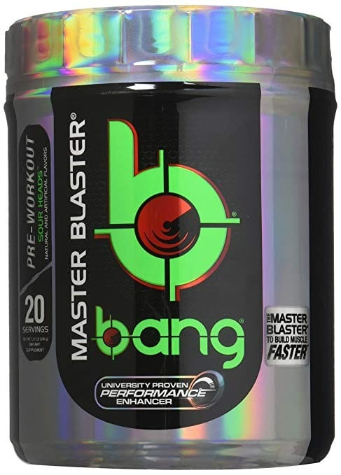 Bang Master Blaster Pre Workout Review