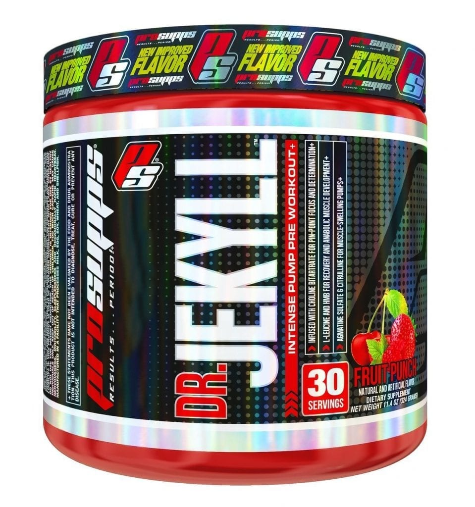Dr. Jekyll Pre Workout Review