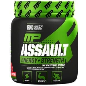 MusclePharm Assault Pre Workout Review