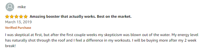 amazon testogen reviews