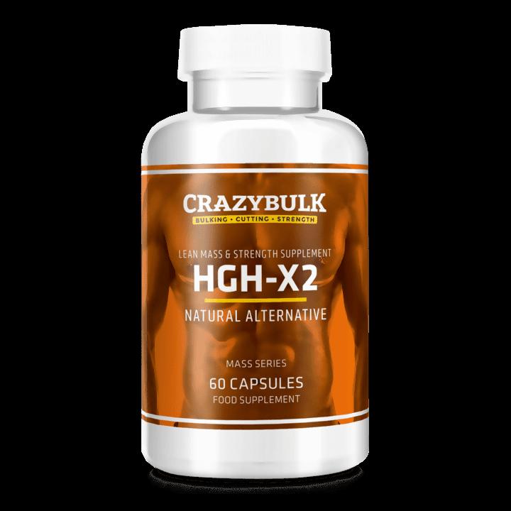 HGH-X2 von CrazyBulk wachstumshormone