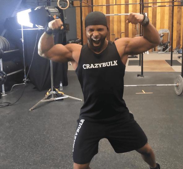 CrazyBulk-Athleten, Christopher Tripp 3