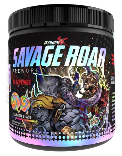 savage roar pre-workout new formula