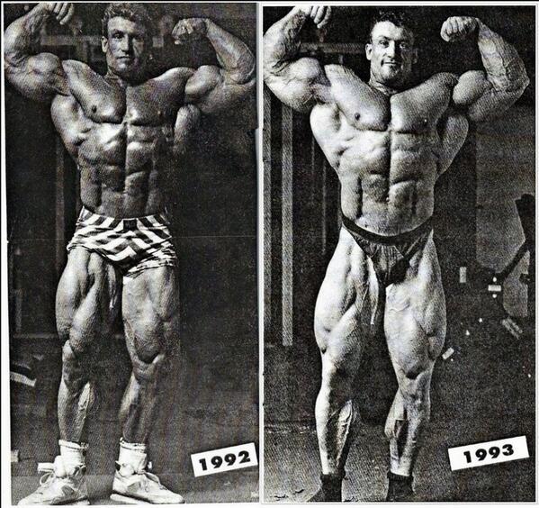Dorian yates transformation