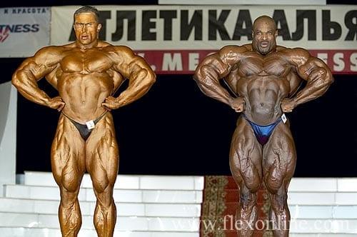 russian grand prix ronnie coleman
