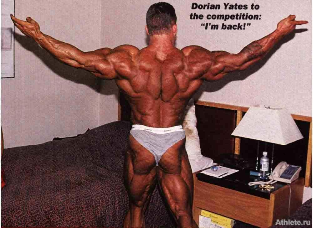 dorian yates back