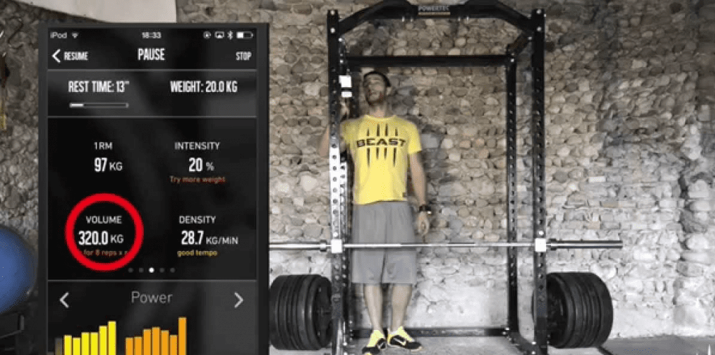 training parameters app