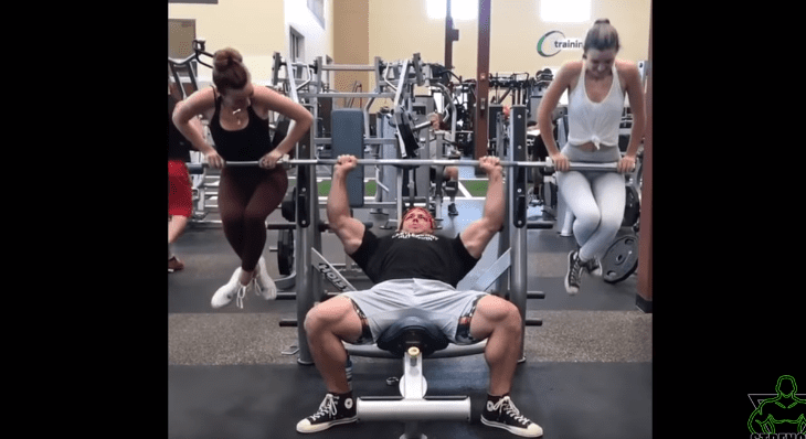 brad castleberry bench press