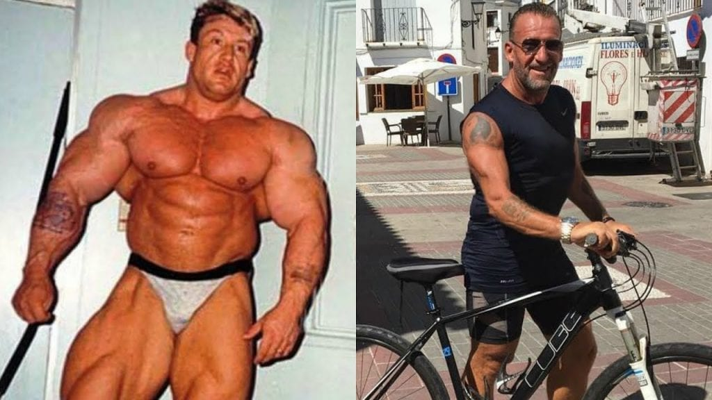 dorian yates then and now
