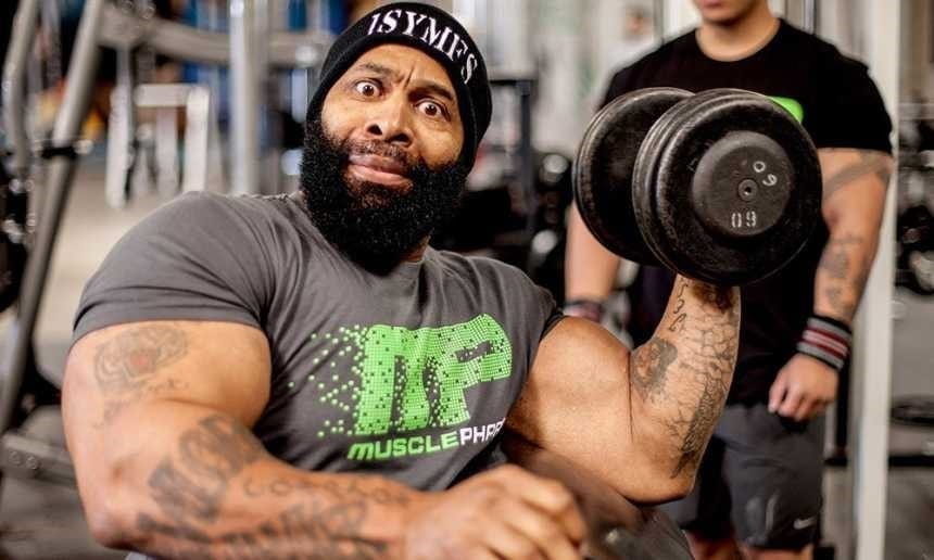 CT Fletcher Workout Quotes Heart Attack
