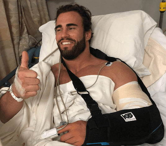Calum Von Moger Injury