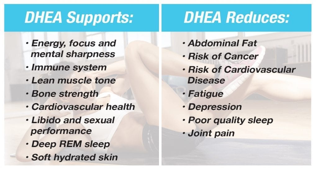 benefits of dhea
