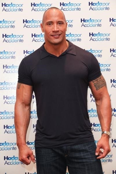 Dwayne Johnson Before and After Transformation 4
