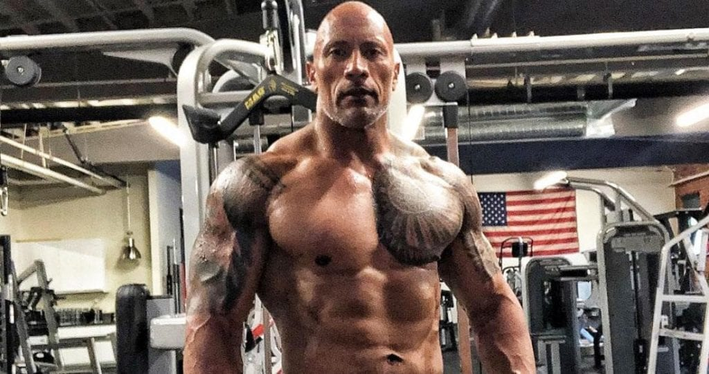 Dwayne the Rock Johnson Workout Routine and Diet Plan Revealed