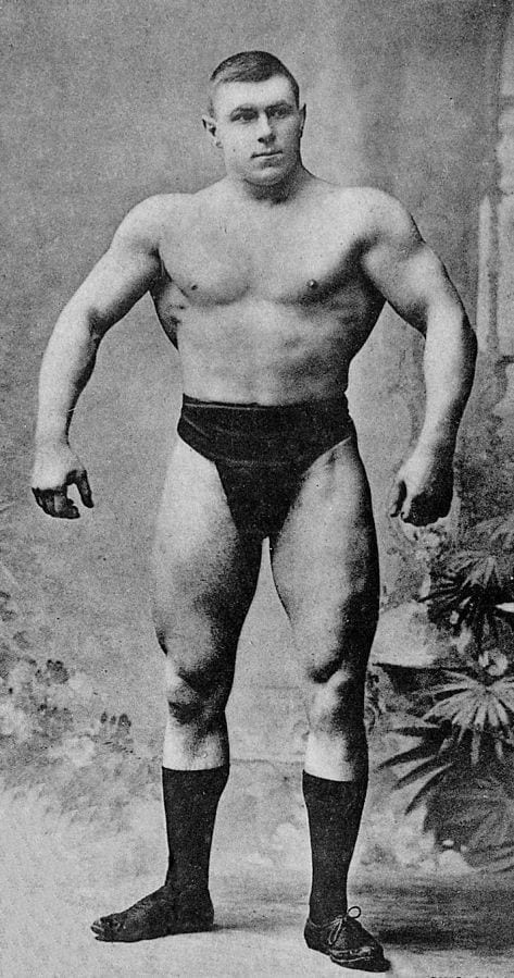 George Hackenschmidt Before and After 2