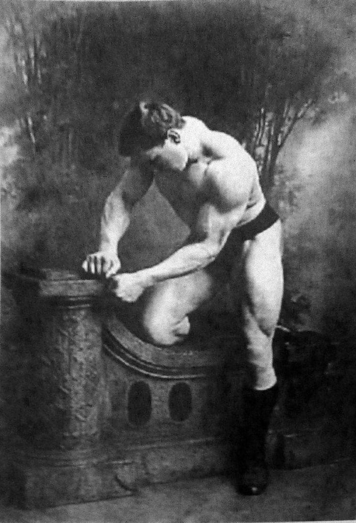 George Hackenschmidt Before and After