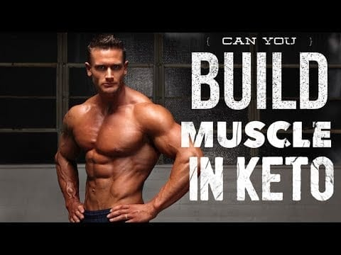 can you build muscle on keto